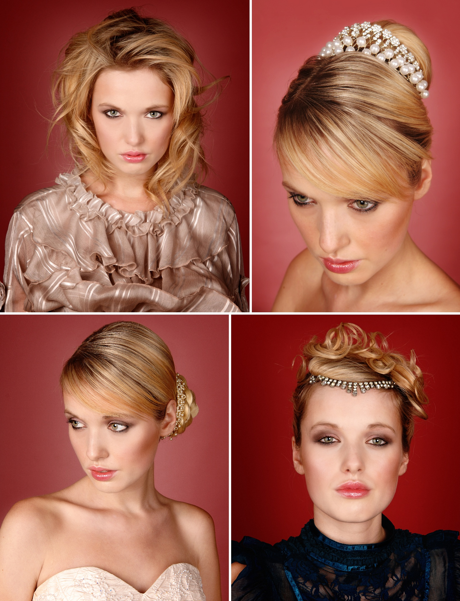 Colour photo of models at Bravo Hairdressing