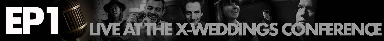 Banner to show the podcast for the X-Weddings conference