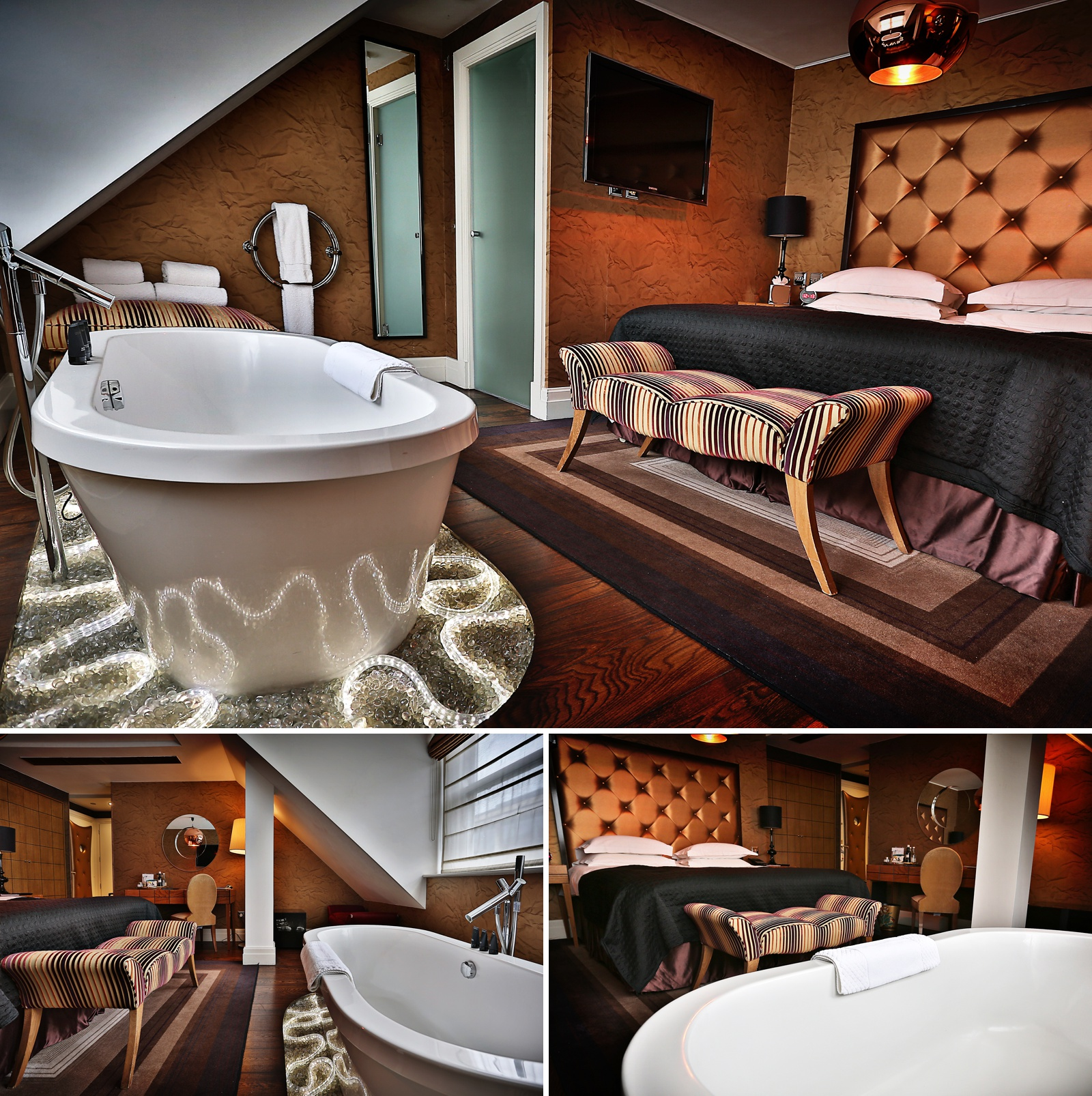 The Sanctum Hotel in London, a bedroom
