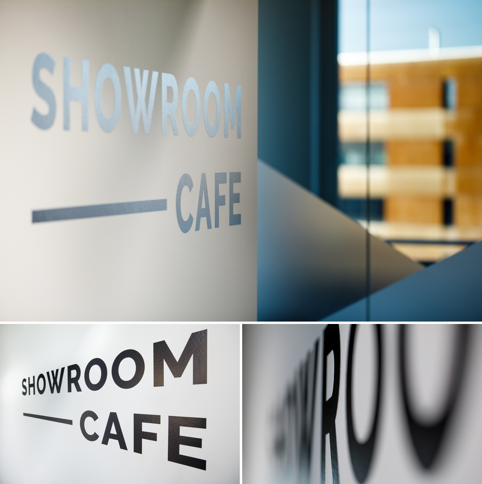 The showroom cafe picture at NCR in Zurich
