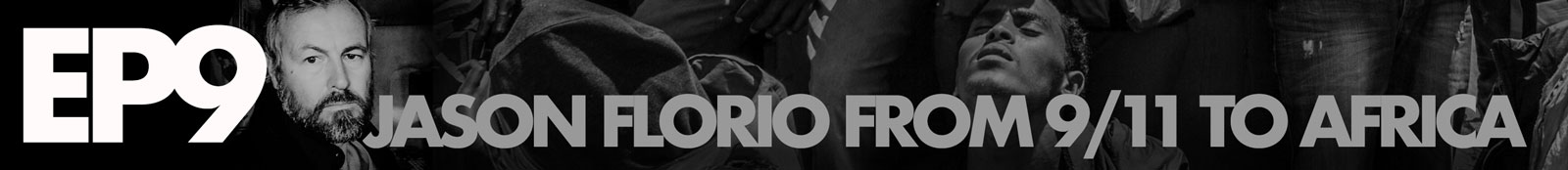 Banner to introduce Jason Florio podcast